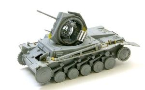 破壊された2号戦車F型
