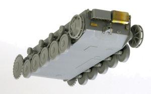2号戦車F型 足まわりの組み立て