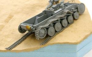 2号戦車F型 履帯の組み立て