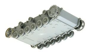 3号戦車J型 足まわりの組み立て