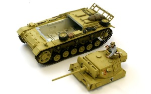 3号戦車J型 OVMの塗分け