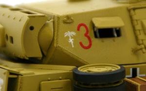 3号戦車J型 デカール貼り