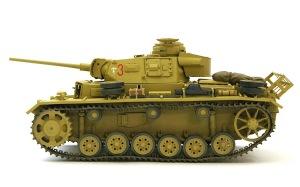3号戦車J型 埃色の塗装