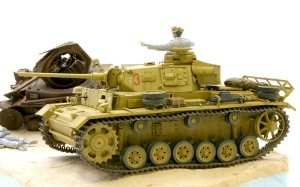 3号戦車J型 ウオッシング