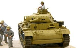 3号戦車J型 雨だれの表現
