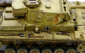 3号戦車J型 チッピング