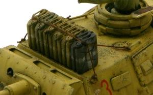 3号戦車J型 砲塔の上の飲料水用ジェリカン