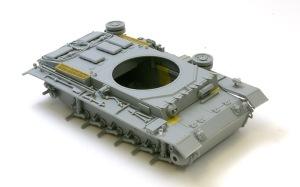 3号戦車J型 車体の組み立て