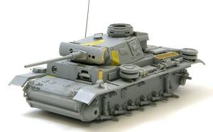 3号戦車J型 組み立て完了