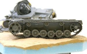 3号戦車J型 履帯の組み立て