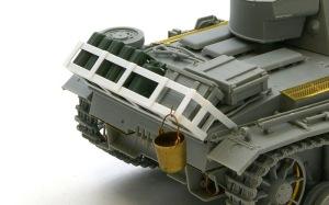 3号戦車J型 車体後部の荷物ラック