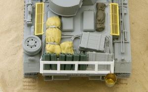 3号戦車J型 荷物の追加