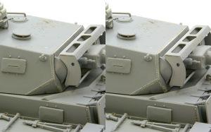 3号戦車J型 砲塔の組み立て