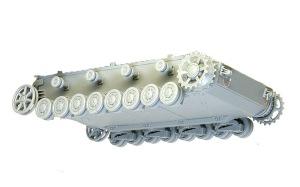 4号戦車F1型 増加装甲付 足まわりの組み立て