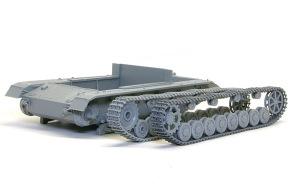 4号戦車F1型 増加装甲付 フェンダーの組み立て