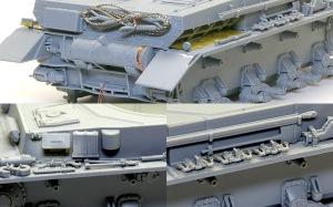 4号戦車F1型 増加装甲付 OVMの取り付け