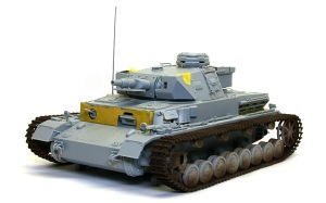4号戦車F1型 増加装甲付 組み立て完了