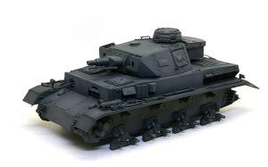 4号戦車F1型 増加装甲付 明色の追加