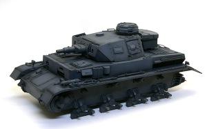 4号戦車F1型 増加装甲付 暗色の追加