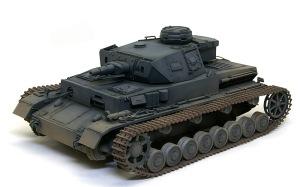4号戦車F1型 増加装甲付 土埃の吹きつけ