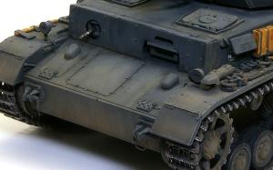 4号戦車F1型 増加装甲付 油彩で汚し