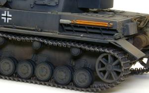 4号戦車F1型 増加装甲付 ドライブラシ