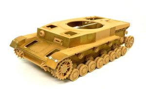 4号戦車J型 エッチングパーツでツィンメリット・コーティング