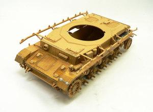 4号戦車J型 車体の組立て完了「