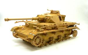 4号戦車J型 砲塔の組立て、組立て完了