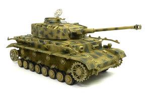 4号戦車J型 ウオッシングとドライブラシ