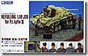 ドイツ戦車兵・3号戦車注油給油セット 1/35 グンゼ産業