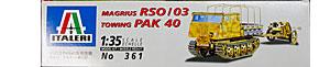 RSO/03トラクター PAK40牽引セット