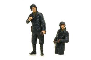 ロシア戦車兵 黒服の2名