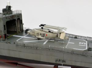 護衛艦さざなみ SH-60Kヘリコプター