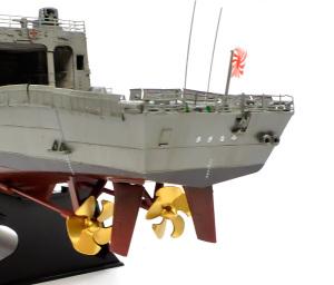 護衛艦さざなみ プロペラ