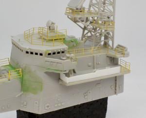 チャフ甲板に装甲板を付ける