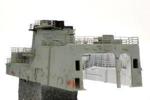 護衛艦さざなみ ヘリ格納庫の細部の塗分け