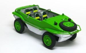 シュビムワーゲン166型 鮮やかな緑のボディ