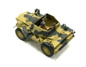 スカウトカー ダイムラーMk.2 の迷彩塗装