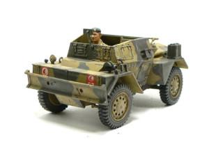 スカウトカー ダイムラーMk.2、車輌が完成