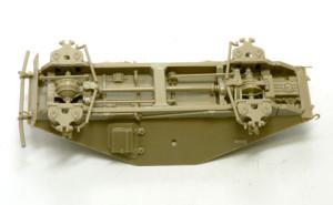 Sd.kfz.223 フンクワーゲンの足まわり