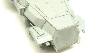 対空自走砲 Sd.kfz.251/17C型 溶接痕の追加