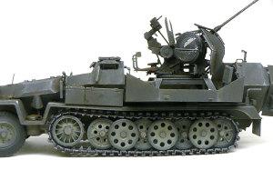 対空自走砲Sd.kfz.251/17C型 履帯の取り付け