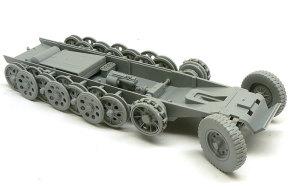 対空自走砲 Sd.kfz.251/17C型 足まわりとシャーシの組立て
