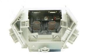 対空自走砲 Sd.kfz.251/17C型 運転席の塗装