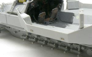 対空自走砲 Sd.kfz.251/17C型 極小の偽装ネットフック