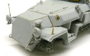 対空自走砲 Sd.kfz.251/17C型 細かなパーツの取り付け