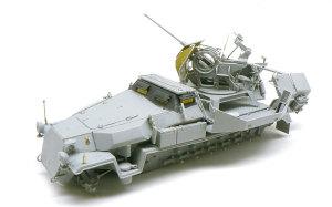 対空自走砲 Sd.kfz.251/17C型 組立て完了