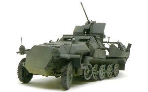 対空自走砲 Sd.kfz.251/17C型 車体下面の汚し