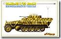 Sd.kfz.251/23装甲偵察車 1/35 サイバーホビー